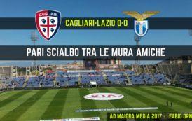 CALCIO, Poche emozioni tra Cagliari e Lazio (0-0): Padoin spreca l'occasione più ghiotta