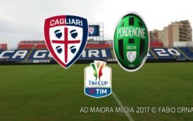 CALCIO, Martedì di Coppa per il Cagliari: ecco il Pordenone