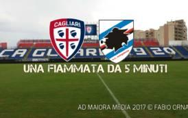 CALCIO, Cagliari: fiammata di 5 minuti, Sampdoria acciuffata (2-2)
