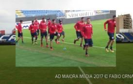 CALCIO, Sgambata del Cagliari contro l'Under 17: 4-1