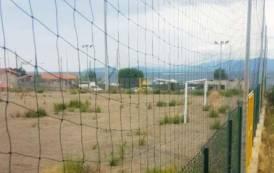 CAGLIARI, In ritardo i lavori nel campo di calcio del Vecchio Borgo nel quartiere di Sant'Elia (VIDEO)