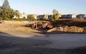 Cagliari: un campo di calcio trasformato in discarica (Aldo)