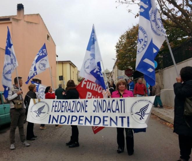 SANITA', Senza stipendio da 8 mesi: protesta Fsi con lavoratori Ipab Ploaghe domani a Cagliari