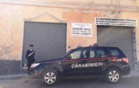 BARISARDO, Fuoco all'officina per incassare premio assicurativo: denunciato imprenditore 43enne
