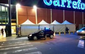 QUARTU SANT'ELENA, Furto di liquori all'ipermercato Carrefour: arrestata coppia rom in trasferta da Olbia