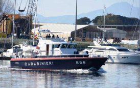 BAUNEI, Soccorso ad una barca a vela impegnata nella regata Palermo–Monte Carlo
