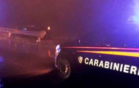 IGLESIAS, Rio Cixerri esonda e trascina auto fuori strada nella Provinciale 85: conducente illeso