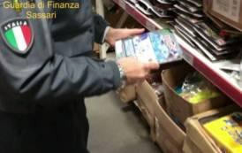 OLBIA, Sequestrato oltre un milione di prodotti contraffatti: denunciato imprenditore cinese (VIDEO)
