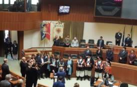 """REGIONE, Celebrata """"Sa Die de sa Sardigna"""". Presidente Solinas pronuncia il suo discorso in limba"""