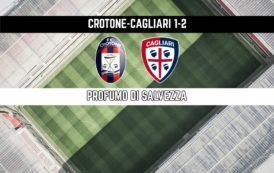 CALCIO, Borriello entra e segna: Crotone-Cagliari 1-2. Una vittoria che profuma di salvezza