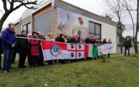 LIMBIATE, Murales celebrativo in Brianza per il Premio Nobel a Grazia Deledda