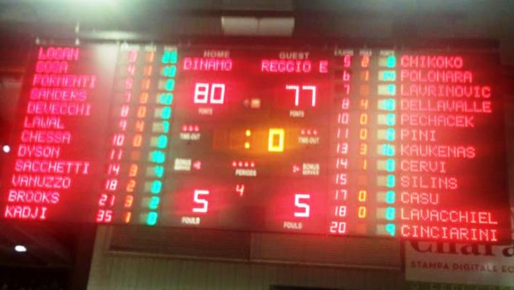 PALLACANESTRO, Dopo la sofferenza, la gioia sul filo di lana: Dinamo vince a Sassari (80-77) e riapre i giochi