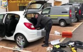 OLBIA, Da Cagliari in auto con un etto di cocaina: arrestati due 34enni di Sestu (VIDEO)