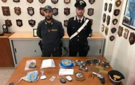 CAGLIARI, Aveva in casa droga e pistola: arrestato pregiudicato 57enne