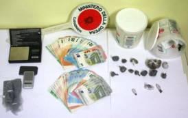 SARDARA, Trovato in possesso di cocaina e marijuana: arrestato 26enne di Ales
