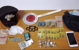 SETTIMO SAN PIETRO, Scoperto spacciatore di cocaina, marijuana e hashish: arrestato 20enne