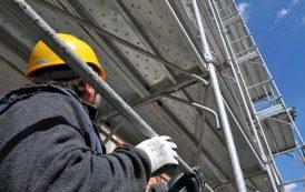TORTOLI', Denuncia e sanzioni per irregolarità in una cantiere edile