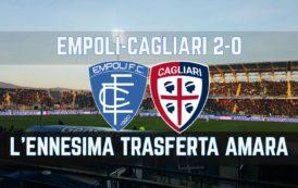 CALCIO, Rigori, infortuni ed inconsistenza: Cagliari KO ad Empoli (0-2)