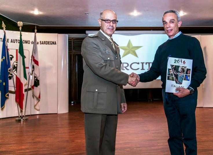ESERCITO, Presentato a Cagliari il calendario 2016 dell'Esercito dedicato a tutti gli Italiani della Grande Guerra