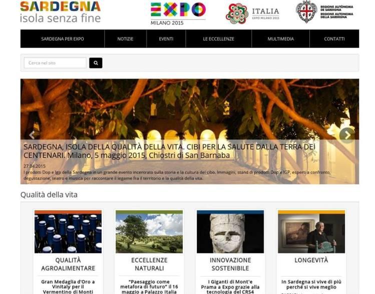 EXPO 2015,  A Milano la Sardegna si promuove come Isola della qualità della vita