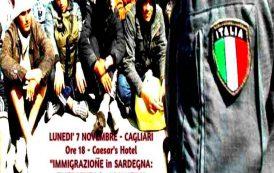 IMMIGRAZIONE, A Cagliari un dibattito sulla situazione in Sardegna: lunedì 7 alle 18 al Caesar's Hotel