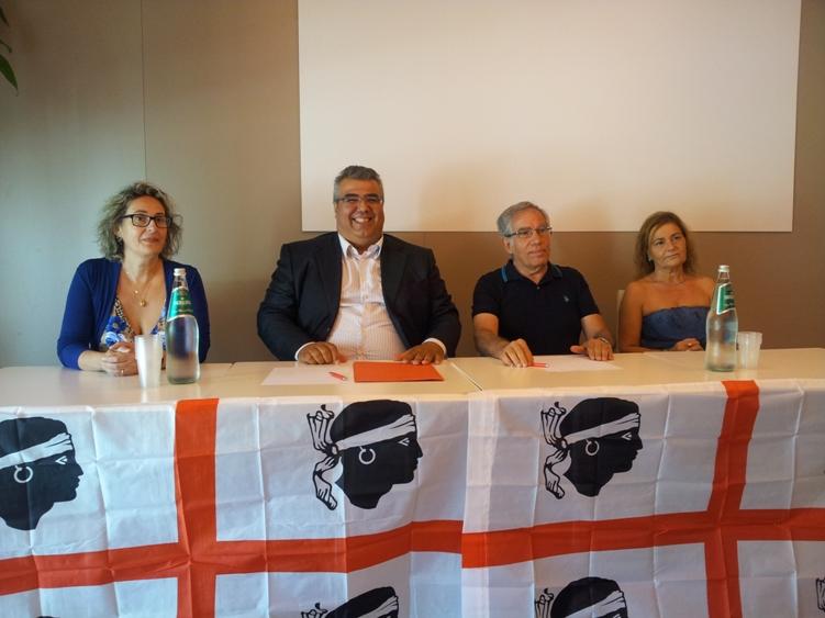 """ZONA FRANCA, Movimenti si uniscono in unico soggetto politico. Fenu: """"Zona franca di Cagliari è solo primo passo della scommessa"""""""