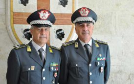 GUARDIA DI FINANZA, Generale Bruno Bartoloni assume incarico di Comandante regionale in Sardegna