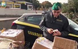 SARDEGNA, Sequestrati 25mila giocattoli e 323mila articoli elettrici non regolari a Cagliari, Capoterra e Sant'Antioco