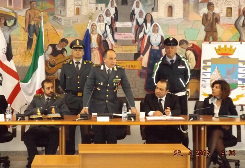 BONORVA, Firmato protocollo tra Guardia di finanza e Comuni del Meilogu per verificare le prestazioni sociali agevolate