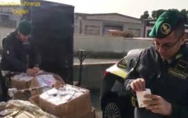 SARDEGNA, Sequestrati a Pula e San Gavino Monreale 959 prodotti considerati pericolosi per la salute del consumatore