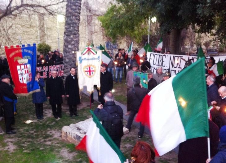 CAGLIARI, Mercoledì 10 cerimonia per ricordare i Martiri delle Foibe e gli Esuli istriani, giuliani e dalmati