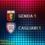 CALCIO, Salvezza! Il Cagliari ringrazia (ancora) Pavoletti: con il Genoa è 1-1