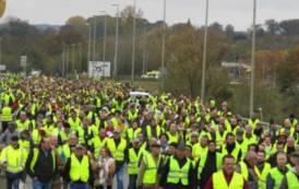 SARDOSONO, Protesta dei pastori sardi ha analogie evidenti coi 'gilet gialli' francesi