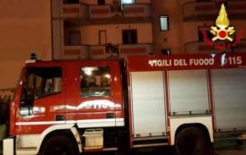 ASSEMINI, Incendio in appartamento di via Parigi a causa di una stufa: una persona ustionata