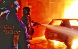 SESTU, Durante la notte in fiamme un'auto ed un appartamento
