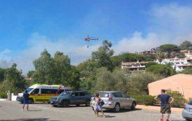 PULA, Le IMMAGINI dell'incendio nel villaggio turistico Capo Blu: elicotteri contro le fiamme tra le case