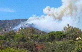 PULA, Ancora fiamme a Santa Margherita (VIDEO)