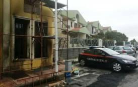 ELMAS, Dà fuoco ad uno studio legale: 60enne cagliaritano arrestato dopo un inseguimento