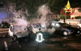 SETTIMO SAN PIETRO, Nella notte tre auto in fiamme in via Copernico