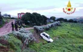 ESCALAPLANO, Finisce fuori strada con l'auto: perde la vita il conducente 72enne