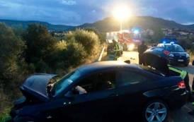 NARCAO, Scontro frontale tra due auto: muore un 57enne