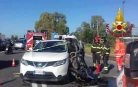 QUARTUCCIU, Incidente mortale per un motociclista sulla SS 554