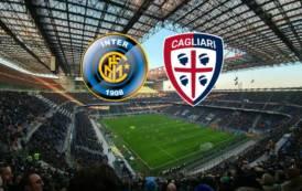 CALCIO, Inter-Cagliari 4-0: rossoblù assenti a San Siro