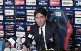 """CALCIO, Il post Cagliari-Lazio. La sportività di Inzaghi: """"I rossoblu hanno meritato questo punto"""""""