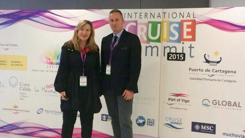 """CAGLIARI, Autorità portuale all'International Cruise di Madrid. Isidori: """"Siamo tra i più importanti porti crocieristici europei"""""""