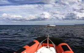 SINISCOLA, Tratta in salvo a La Caletta imbarcazione svizzera con due bambini a bordo