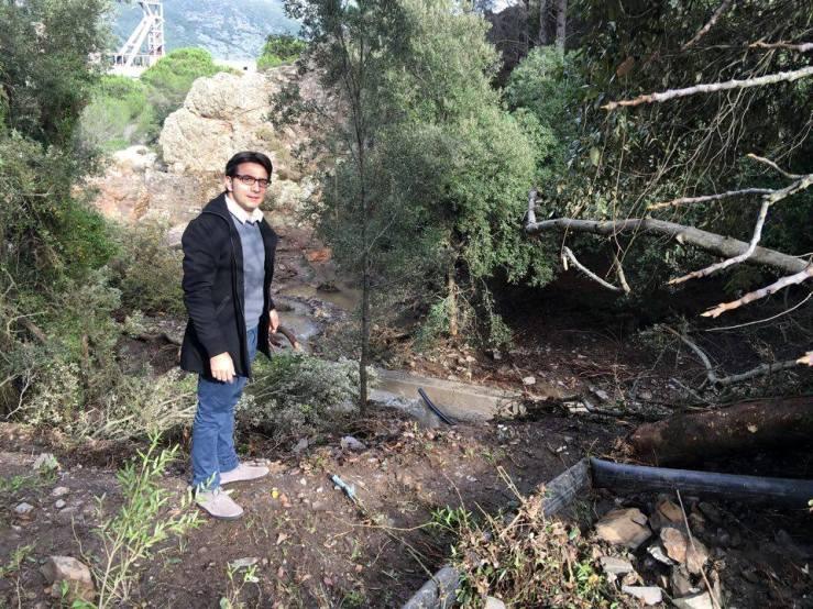 """MONTEVECCHIO, Lampis (FdI): """"La frana sulla diga poteva causare una strage. Bisogna pensare seriamente al territorio"""""""