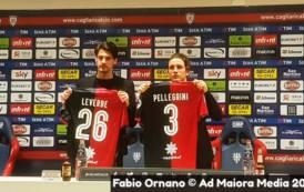 CALCIO, I nuovi rossoblu Pellegrini e Leverbe si presentano