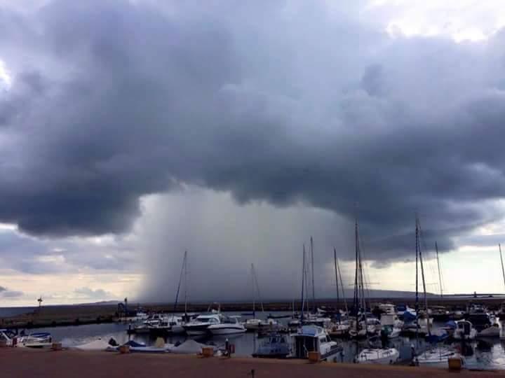 SARDEGNA, Prosegue fino a mezzanotte l'allerta meteo 'arancione': ancora piogge e temporali