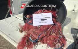 SARROCH, Pesca irregolare davanti alla Saras: sequestrati 300 metri di rete e pescato